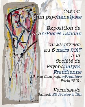 Carnet d'un psychanalyste Jean-Pierre Landau